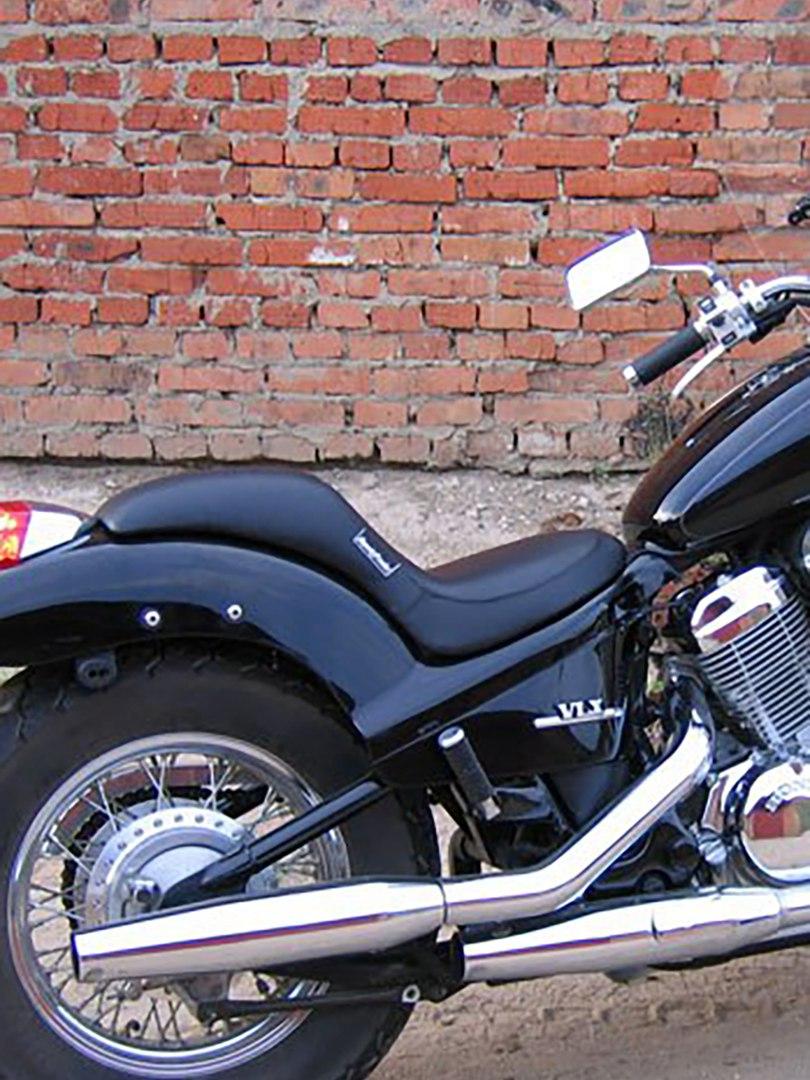 Цельное сиденье для мотоцикла (мотоседло)