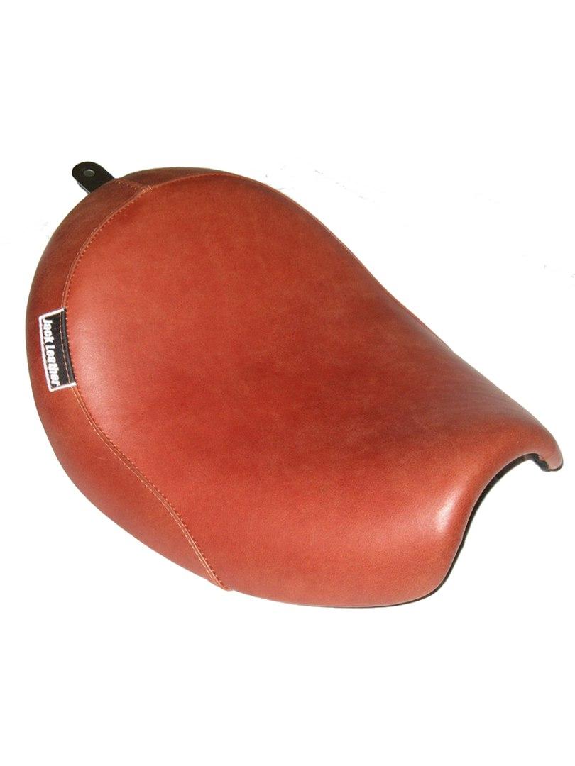 Коричневое сиденье для мотоцикла (мото-седло)