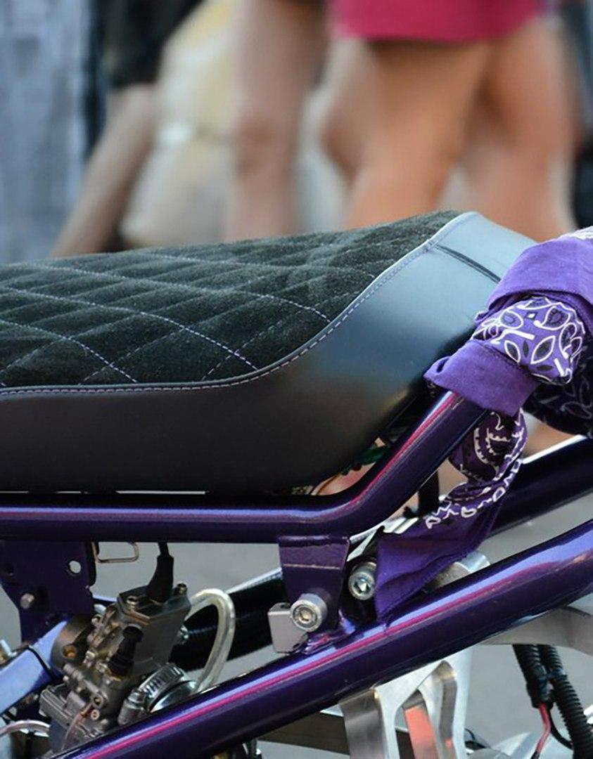Сиденье (мотоседло) для кастом-скутера
