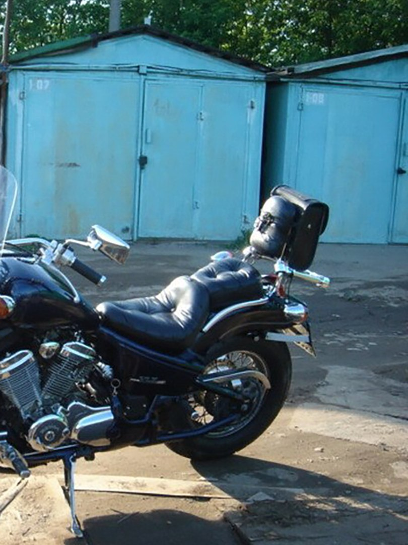 комплект кожаных сидений для мотоцикла (мотоседел)